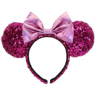 Minnie Pink Sequin Headband