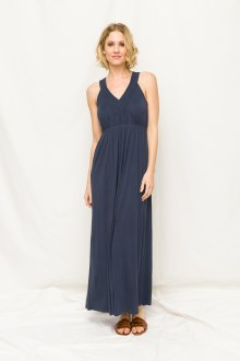 Navy Maxi Dress Small