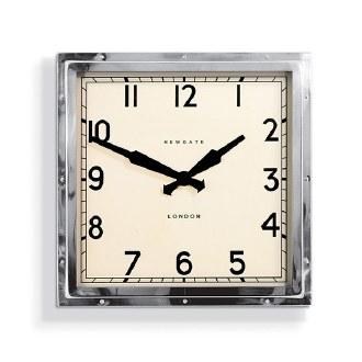 Chrome Quad Clock