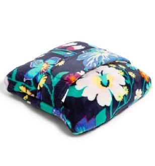Plush Fleece Travel Blanket Firefly Garden