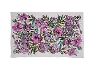Plush Throw Blanket Lavender Meadow