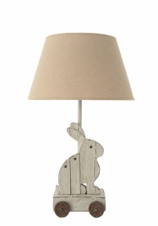 Resin Rabbit Lamp