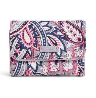 Iconic RFID Riley Compact Wallet Gramercy Paisley