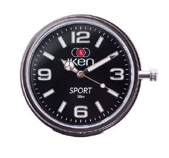 Sport Dial Watch Face Black