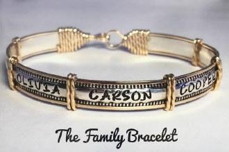 2-tone Family Bracelet