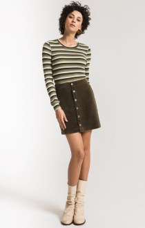 The Wide Wale Corduroy Skirt Extra Small