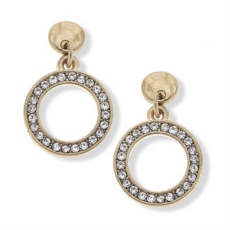 Valentina Pave Earrings