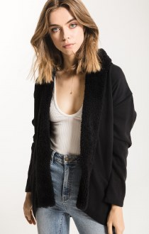 The Sherpa Cocoon Cardigan
