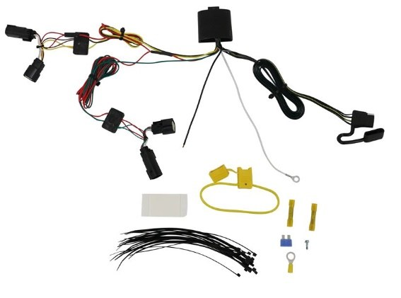 Jeep Cherokee 2019 Trailer Wiring Harness - HitchDirect.com on jeep navigation system, jeep bed liner, jeep roof rack, jeep air conditioning, engine wiring, jeep armrest, jeep bucket seats, jeep trailer lights, jeep trailer harness, jeep trailer hitch, jeep floor mats, jeep brakes, jeep trailer connector, jeep trailer design, jeep alloy wheels, jeep trailer receiver, jeep towing, ford wiring, jeep trailer interior, jeep gauges,