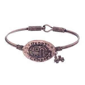 Happy Camper Bracelet Copper