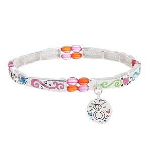 Marry Rich Multi Color Stretch Bracelet