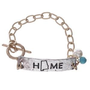 Alabama Home Bracelet