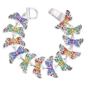 Dragonfly Link Bracelet