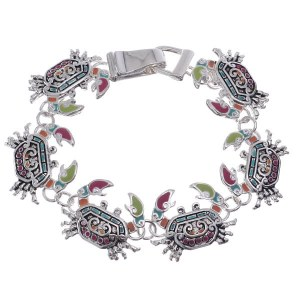 Crab Link Bracelet