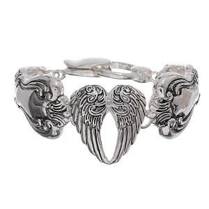 Angel Wing Spoon Bracelet