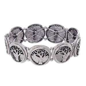 Tree of Life Bracelet Silver