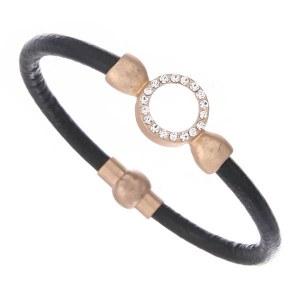 Rhinestone Circle Bracelet