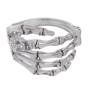 Skeleton Hand Hinge Bracelet