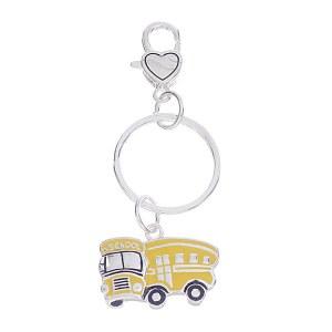 School Bus Key Chain