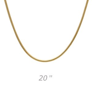 Medium Snake 20 Gold Chain