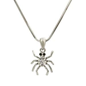 Spider Pendant Necklace