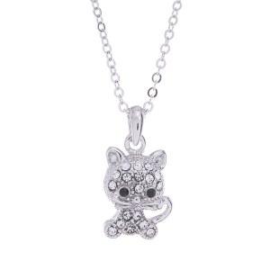 Cute Kitten Pendant Necklace