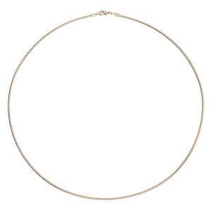"2mm Gold Wire Choker 20"""