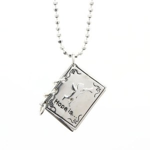 Hope Is... Book Pendant Necklace