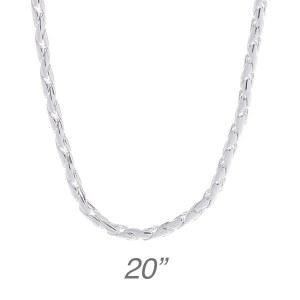 """Fancy Round Chain - 20"""""""