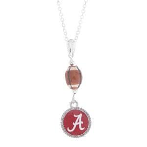 Alabama Football Pendant Necklace