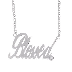 Blessed Necklace Silver