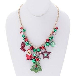 Christmas Charms Necklace Set II