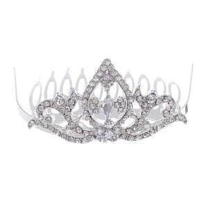 Mini Ornate Crown Tiara