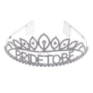 Petal Bride To Be Rhinestone Tiara