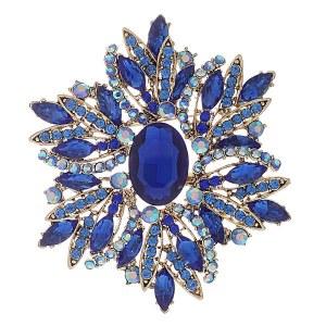 Brooch & Pendant Blue
