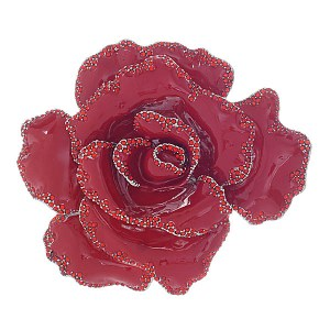 Rose Pin Red