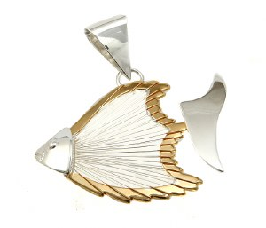 Wire Fish Two Tone Slide
