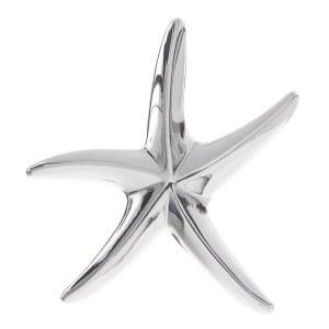 Large Starfish Pendant Silver