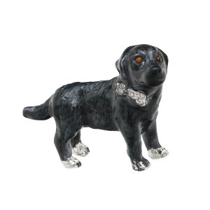 Black Labrador Pendant/ Pin