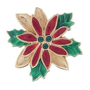 Poinsettia Slide/Pin