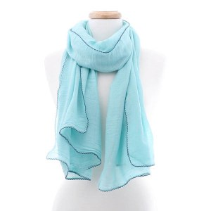 Solid Mint Scarf
