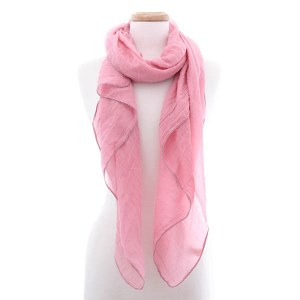 Solid Pink Scarf