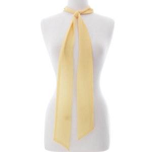 Skinny Scarf Yellow