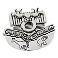 Noah's Ark Silver Pendant/ Pin