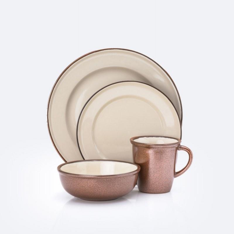 Amore 16-Piece Dinnerware Set