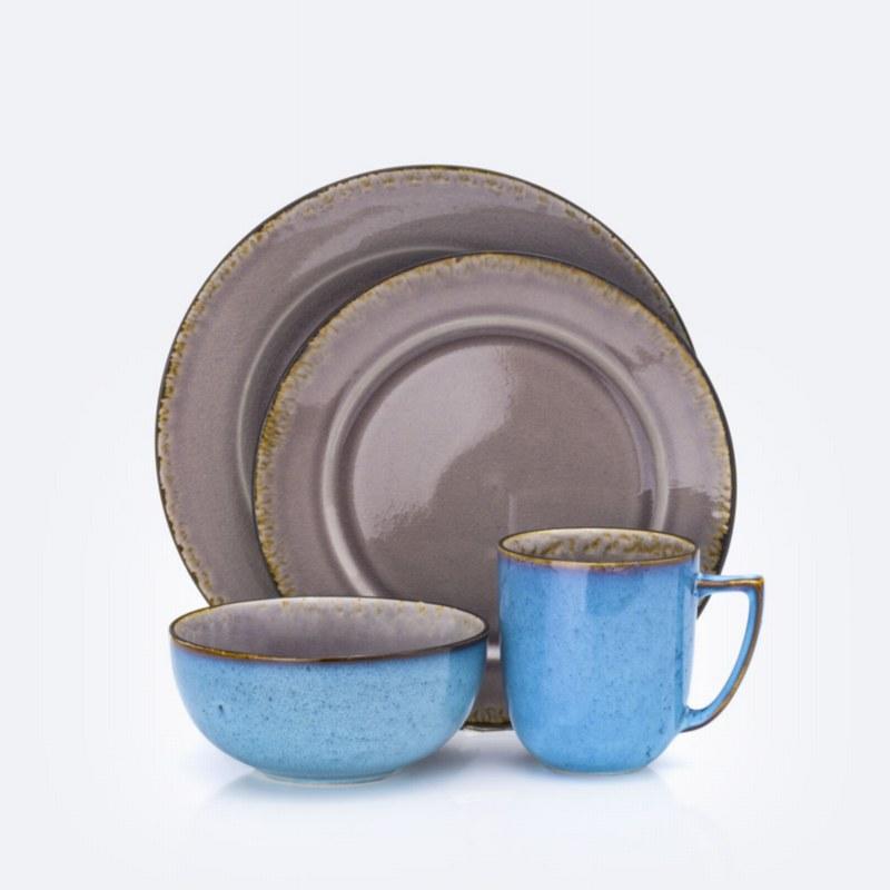 Iris 16-Piece Dinnerware Set