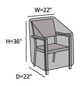 Protective Cover - Dining Chair