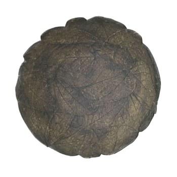 Rustic Leaf Design Bowl