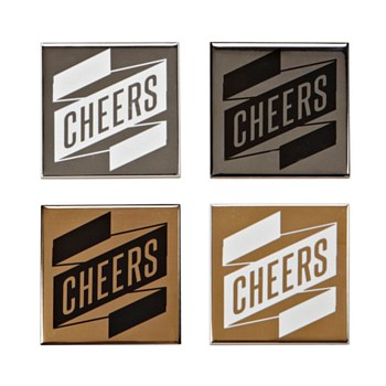 Cheers Coasters - Set of 4