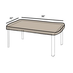 Protective Cover -Table Large Rectangular